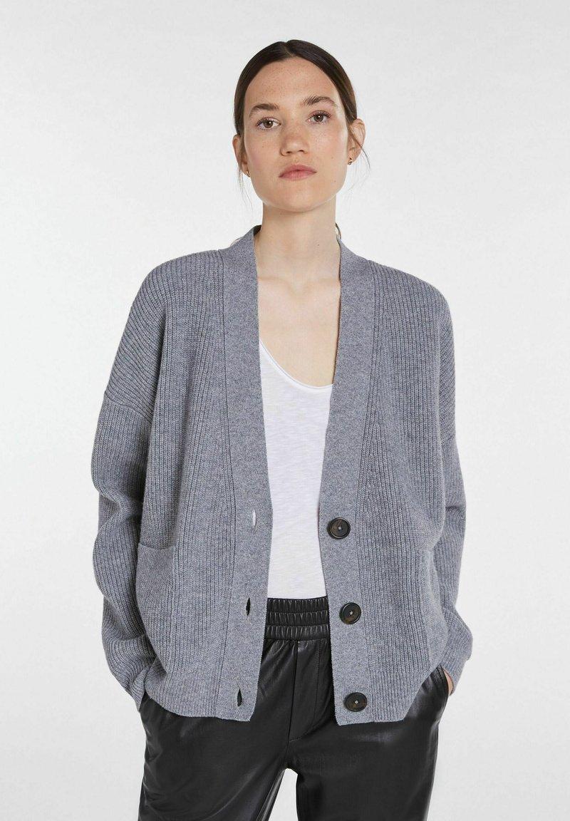 SET - Blouse - grey melange