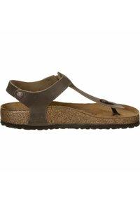 Birkenstock - T-bar sandals -  brown - 4