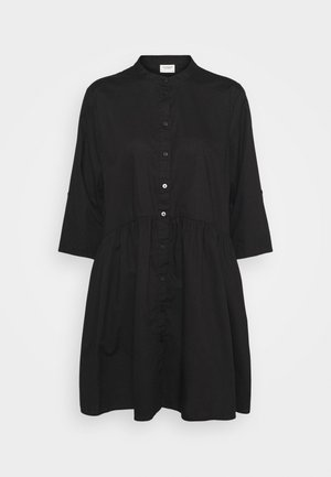 CAMERON LIFE SHORT DRESS - Shirt dress - black