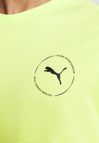Puma - DEPTH TEE - T-shirt print - sharp green - 4