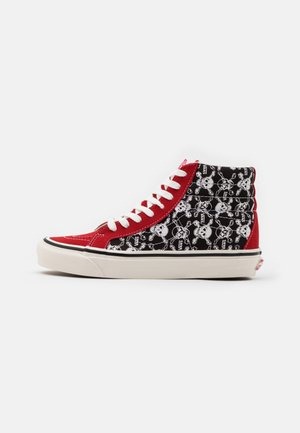 ANAHEIM SK8 38 DX UNISEX - Høye joggesko - red/black/white