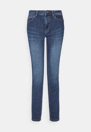HAZEL - Slim fit jeans - mid blue denim