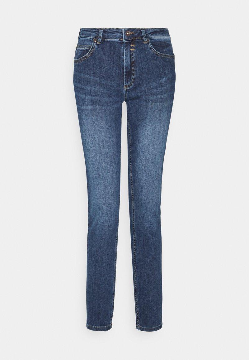 More & More - HAZEL - Jeans slim fit - mid blue denim