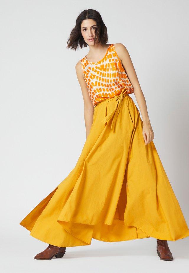 Maxi skirt - senape