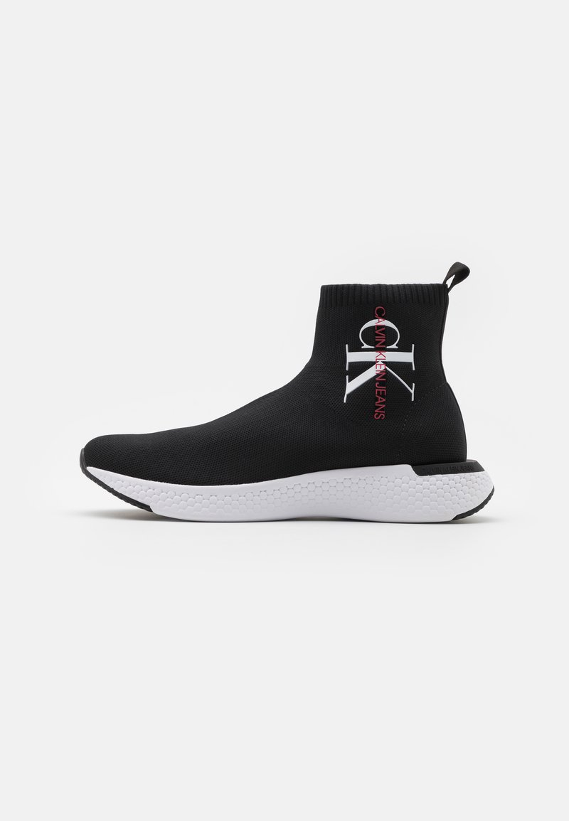 Calvin Klein Jeans - ANDRIEN - Sneakersy wysokie - black