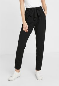 JDY - JDYTANJA PANT - Trousers - black - 0