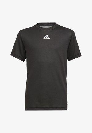 AEROREADY T-SHIRT - Printtipaita - black