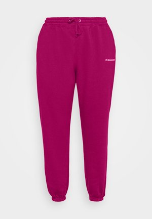 Pantaloni sportivi - raspberry