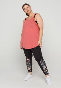 Active by Zizzi - Top - rose of sharon - 0