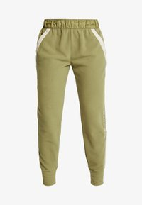 Under Armour - POLAR PANT - Friluftsbukser - outpost green/elite beige/beta red - 6