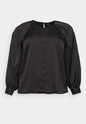 VMBILLI BUTTON - Blouse - black