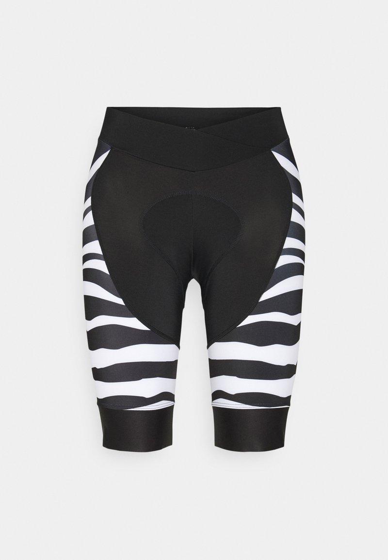 8848 Altitude - COCA BIKE  - Leggings - zebra black