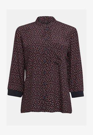 Button-down blouse - new black