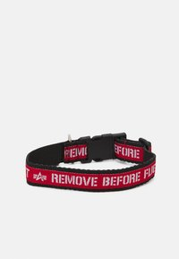 Alpha Industries - DOG TAG COLLAR UNISEX - Other accessories - black - 1