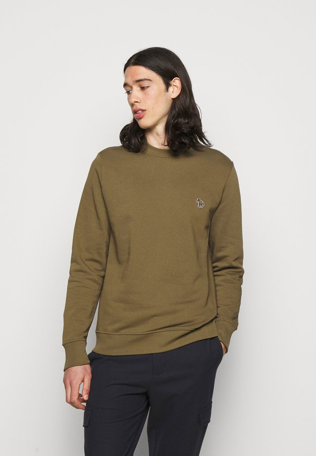 MENS REGULAR FIT - Collegepaita - khaki