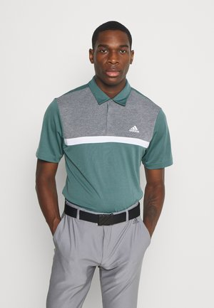 PERFORMANCE SPORTS GOLF SHORT SLEEVE  - Polotričko - tech emerald/black melange