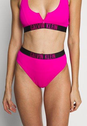 INTENSE POWER HIGH WAIST CHEEKY - Bikinibroekje - pink
