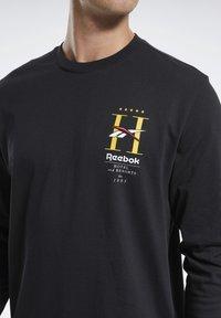 Reebok Classic - CLASSICS HOTEL LONG-SLEEVE TOP - Long sleeved top - black - 3