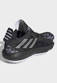 adidas Performance - DAME  SHOES - Basketbalschoenen - black - 3