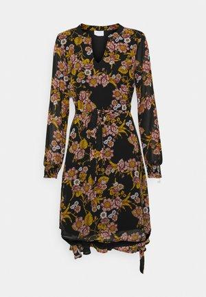 VIADELINE DRESS - Kjole - black/birch