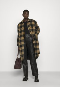 2nd Day - ALTHEA - Classic coat - sepia tint - 1