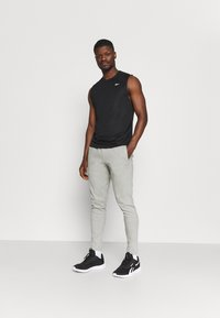 Endurance - MOREL PANTS - Trainingsbroek - mid grey melange - 1