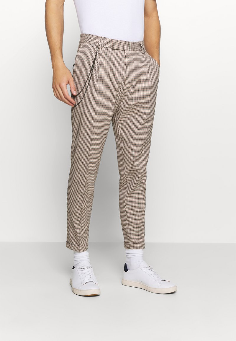 Cinque - CISAND TROUSER - Trousers - brown