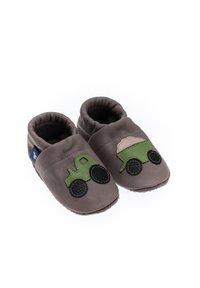 Pantau - First shoes - grau / apfelgrün - 1