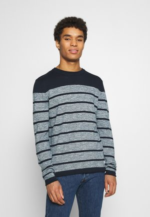 JJJEANS CREW NECK - Jumper - sky captain