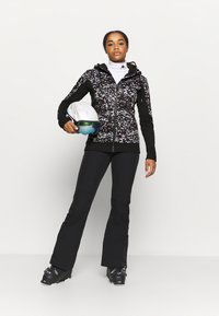 Roxy - FROST PRINTED - Fleece jacket - true black izi - 1