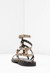 Les Tropéziennes par M Belarbi - CASSIE - Sandały - beige - 5
