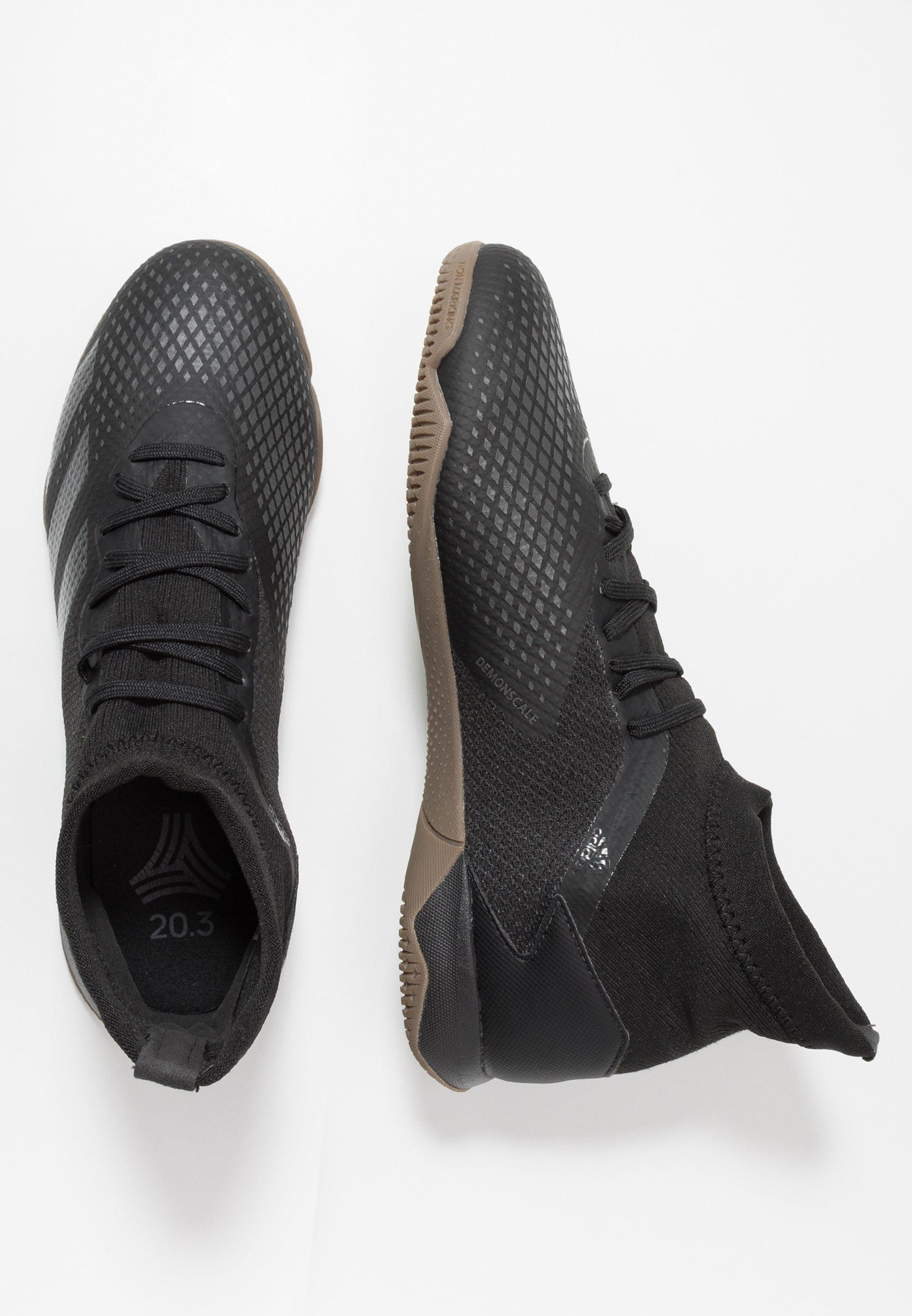 PREDATOR 20.3 IN Fotbollsskor inomhusskor core blackdough solid grey