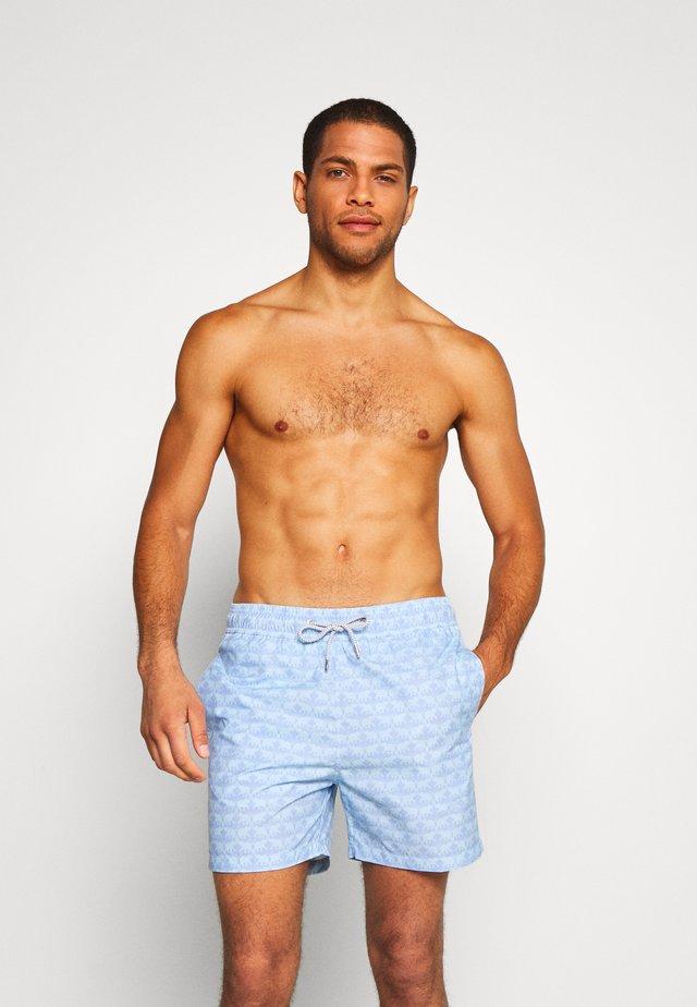 STANIEL - Shorts da mare - elephant dance blue