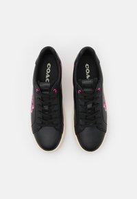 Coach - LOWLINE  - Tenisky - black/pink/multicolor - 4