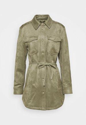 Short coat - light green