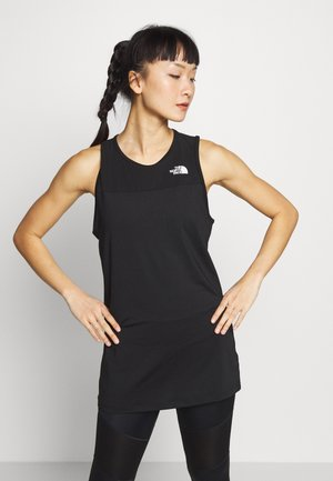 WOMENS ACTIVE TRAIL TANK - Sportshirt - black