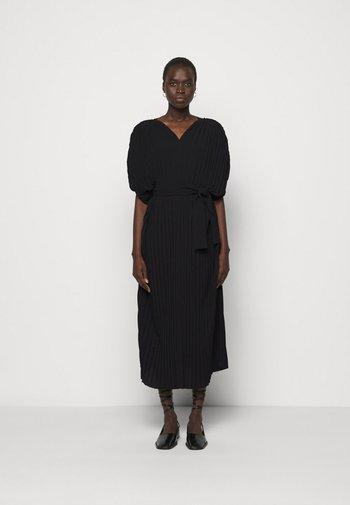 NEW JELLY DRESS PLISSE - Robe d'été - black