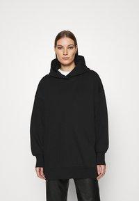ARKET - Jersey con capucha - black - 0