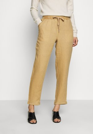 PIPERLY - Trousers - tannin