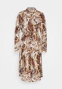 Object - OBJEMERSON DRESS   - Shirt dress - sandshell/vild - 5