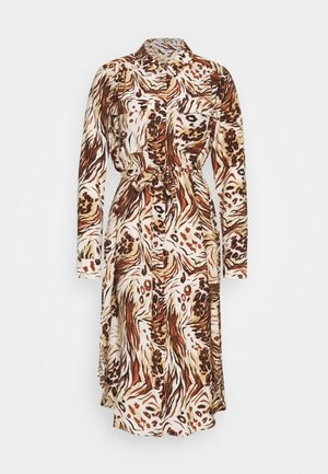 OBJEMERSON DRESS   - Shirt dress - sandshell/vild