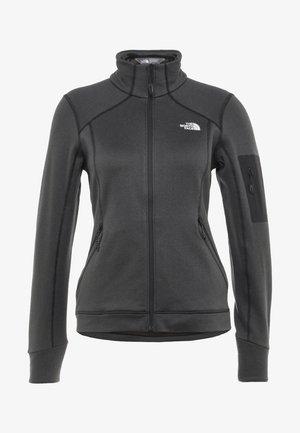 IMPENDOR - Fleece jacket - black heath