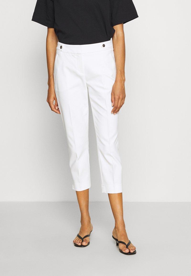 comma - Pantalon classique - white