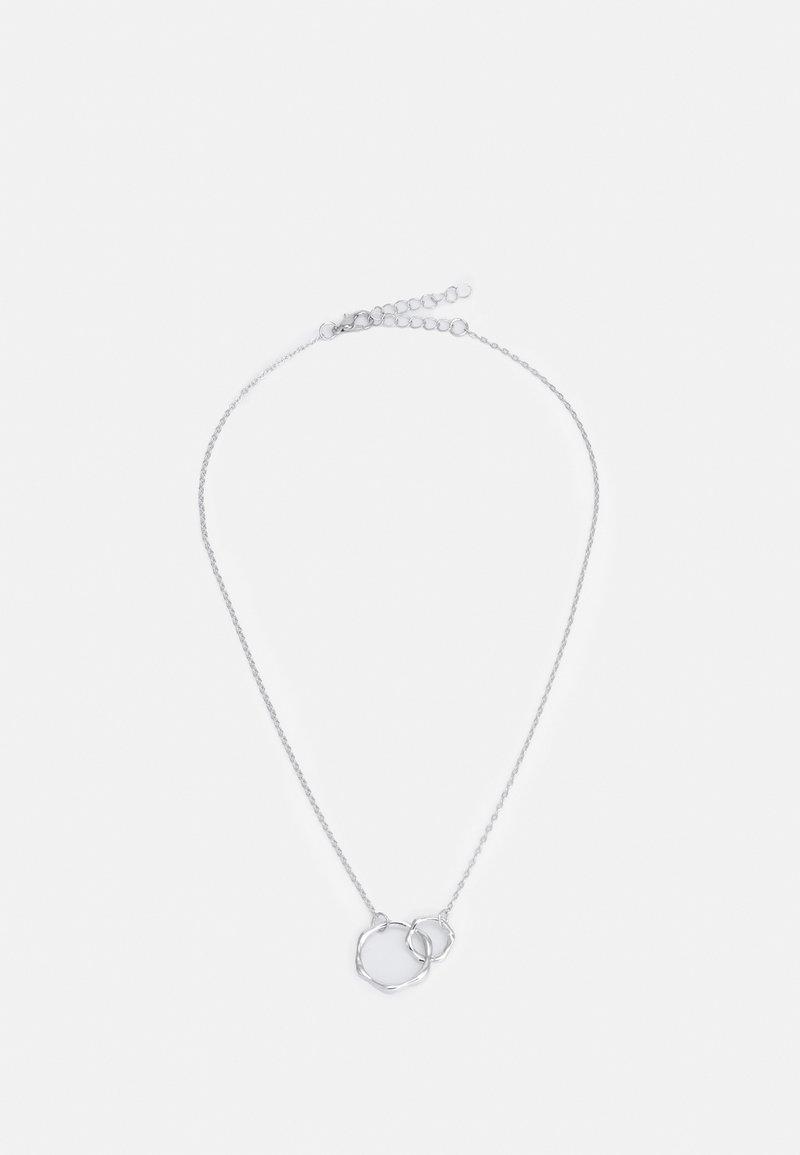 ONLY - ONLABIA NECKLACE - Naszyjnik - silver-coloured