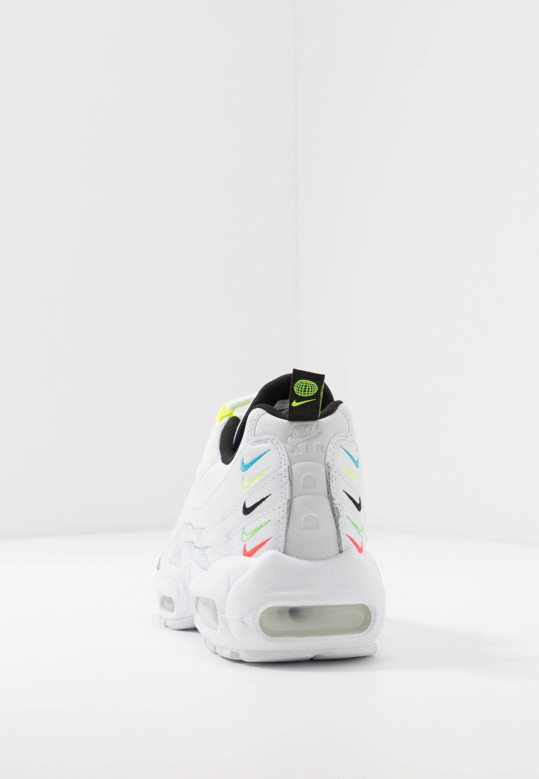 Nike Sportswear Air Max 95 - Joggesko White/volt/blue Fury/black/hvit