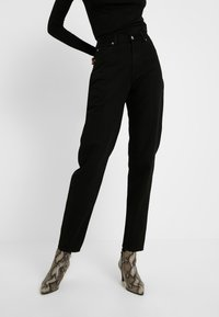 Dr.Denim Tall - NORA MOM - Relaxed fit jeans - black - 0
