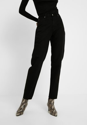 NORA MOM - Jeans baggy - black