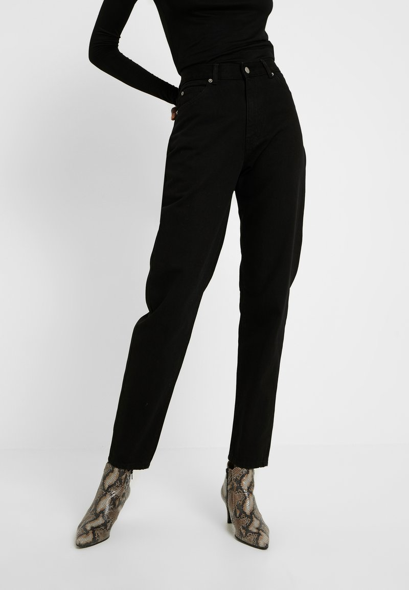 Dr.Denim Tall - NORA MOM - Relaxed fit jeans - black