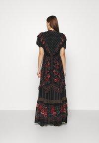 Farm Rio - EMBROIDERED FLORAL MAXI DRESS - Maxi dress - multi - 2