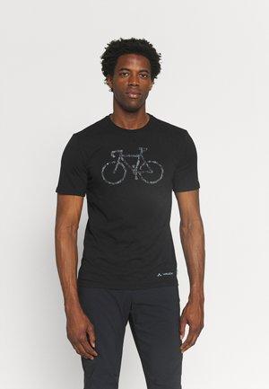 ME CYCLIST  - Printtipaita - black